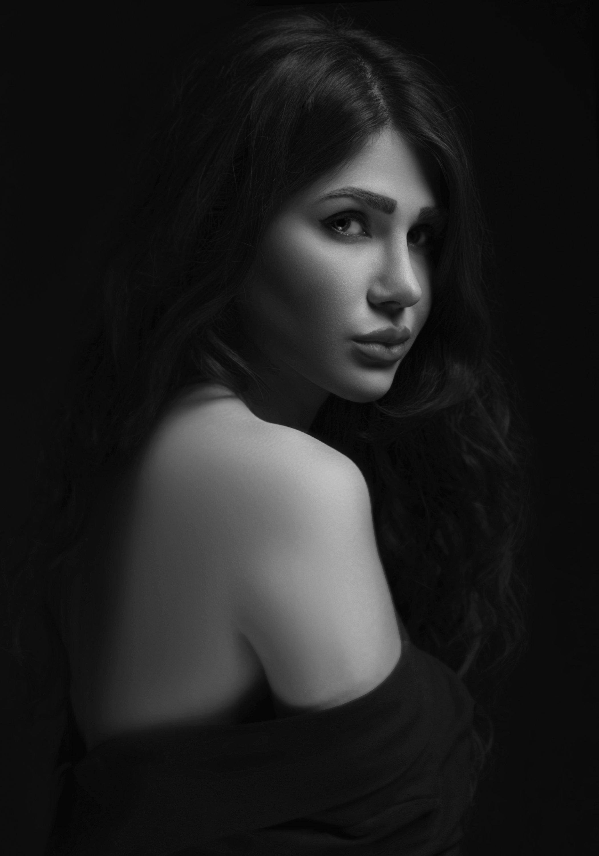 Portrait,Bnw,Black&White,Girl,, Amirhossein kazemi