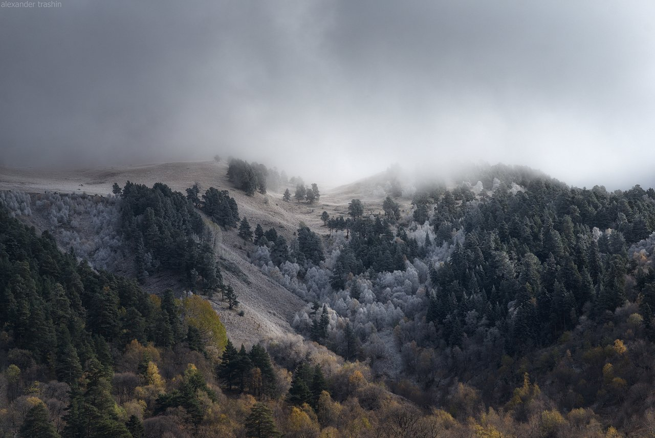 кавказ, северный кавказ, осень, архыз, Александр Трашин