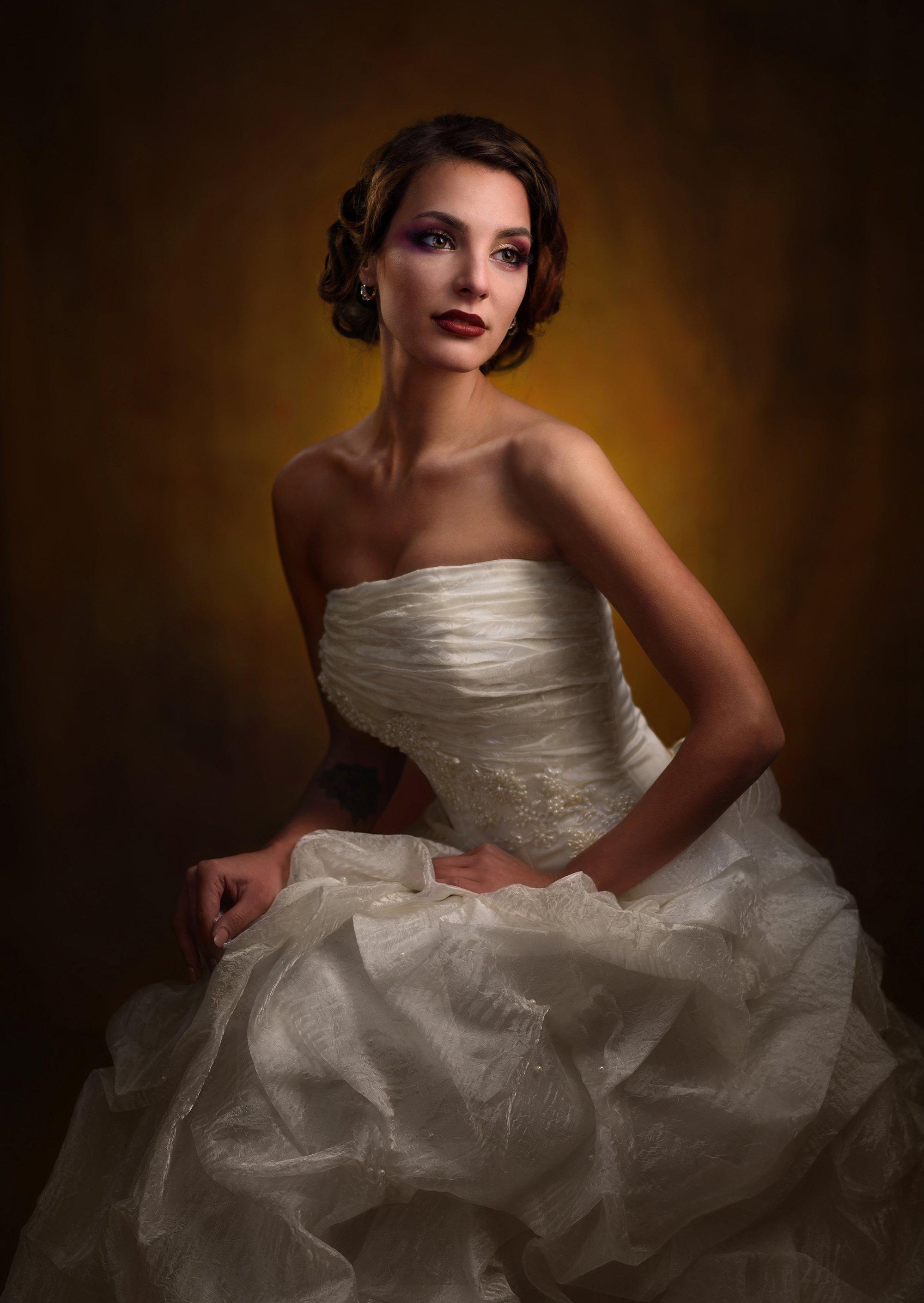 девушка, студия, свет, тень, объем, невеста, Александр Жосан