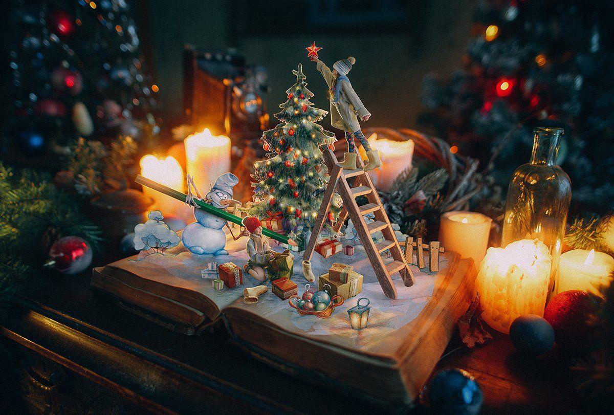 happy New Year ВЕСНУШКИ дети ретро желтый свет дети , Рогожкин Дмитрий