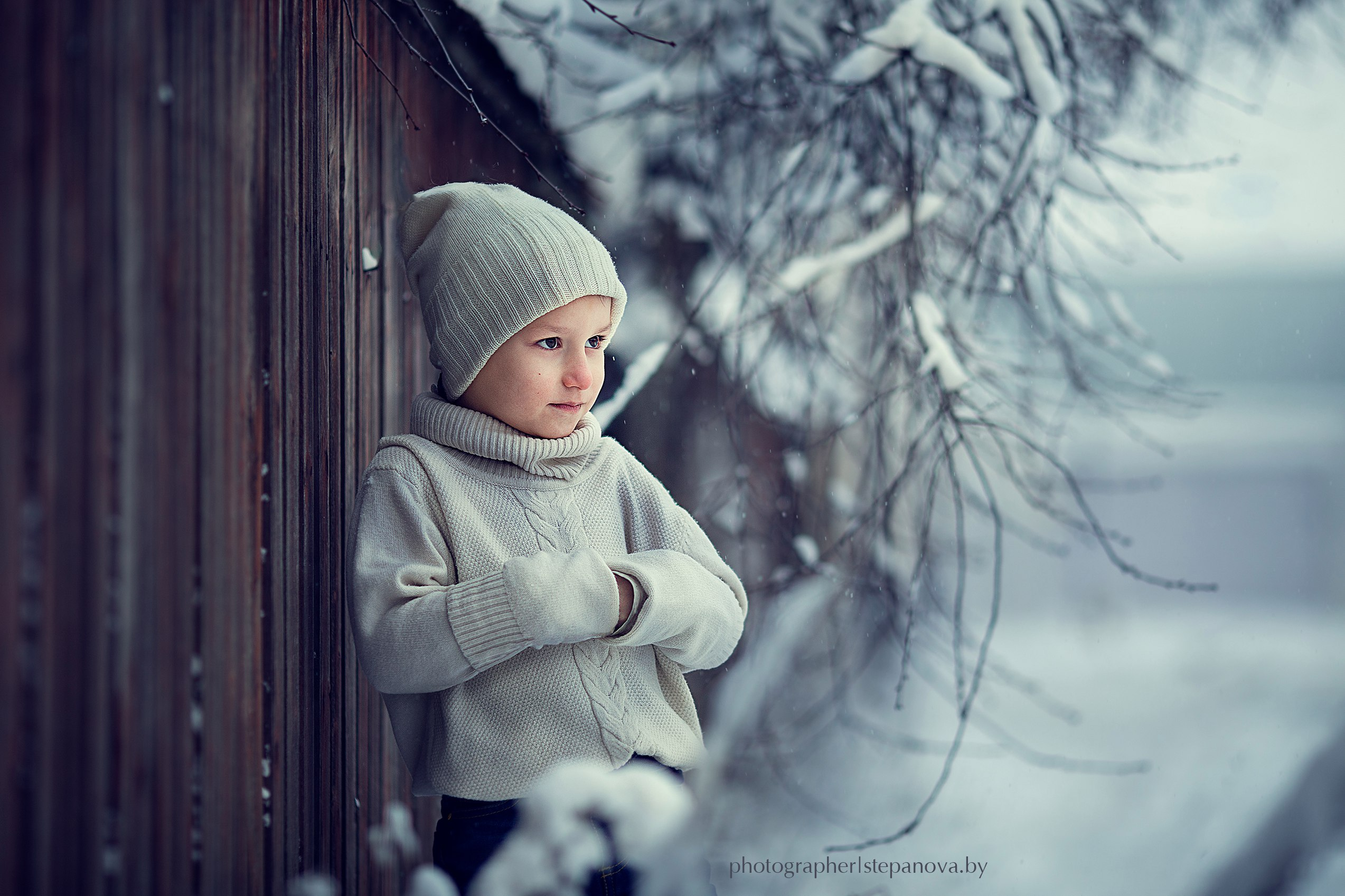 зима,ребенок,холод,снег,мороз, Степанова Дарья