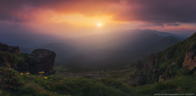 пейзаж, горы, природа, лес, небо, путешествия, красивый, лето, зеленый, украина, трава, дерево, фон, парк, естественный, луг, гора, сезон, красота, цвет, солнце, свет, свежий, карпатский, идиллический, карпаты, карпатские, синий, туризм, вид, холм, время,, Александр Науменко