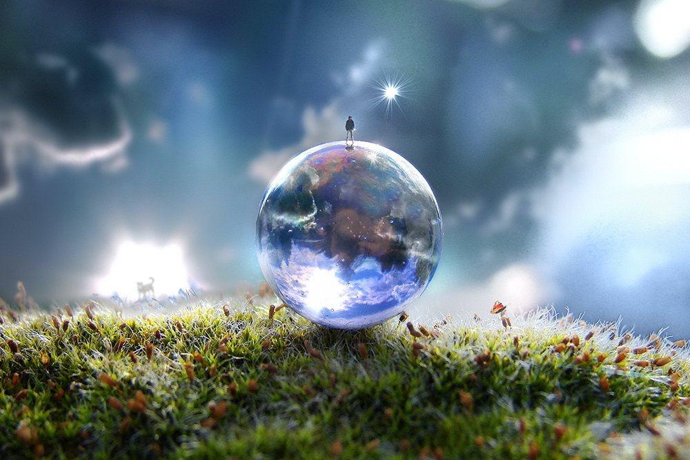 wake,art,mood,illness,light,hope,stars,heaven,sony,, Emerald Wake ©