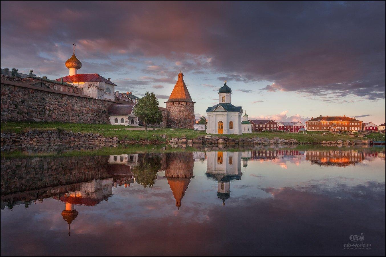 Россия, Соловки, рассвет, пейзаж, Михаил Воробьев
