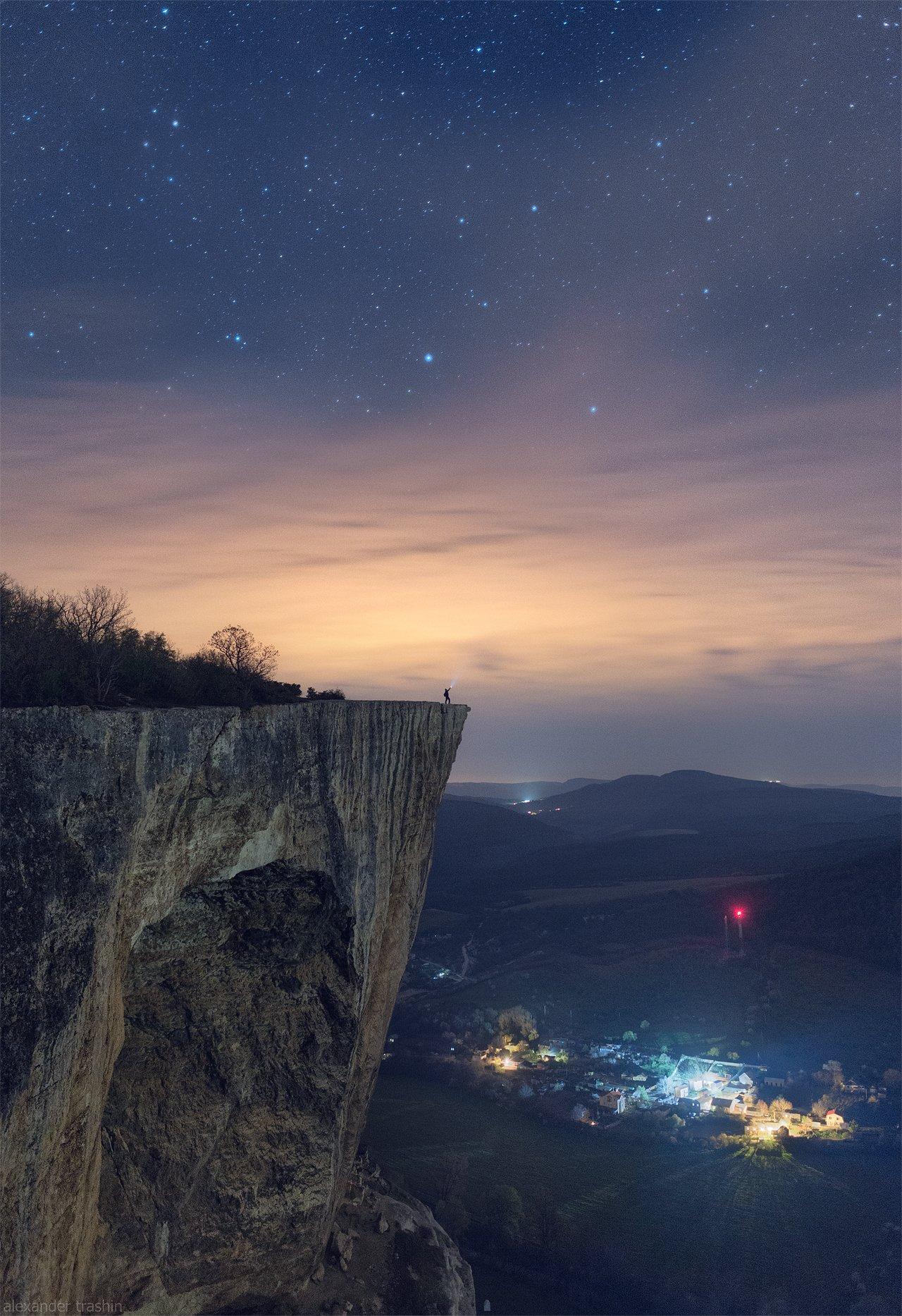 крым, баштановка, качи-кальон, пейзаж, ночной пейзаж, Александр Трашин