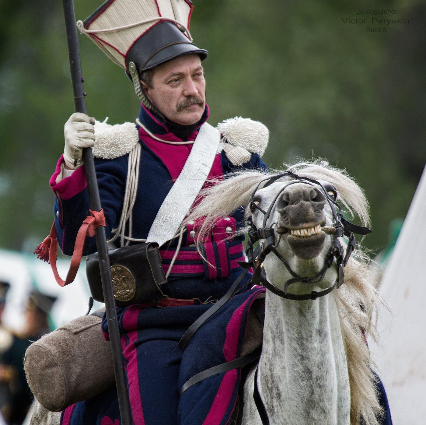 бородинское поле фестиваль оловянный солдатик, Виктор Перякин