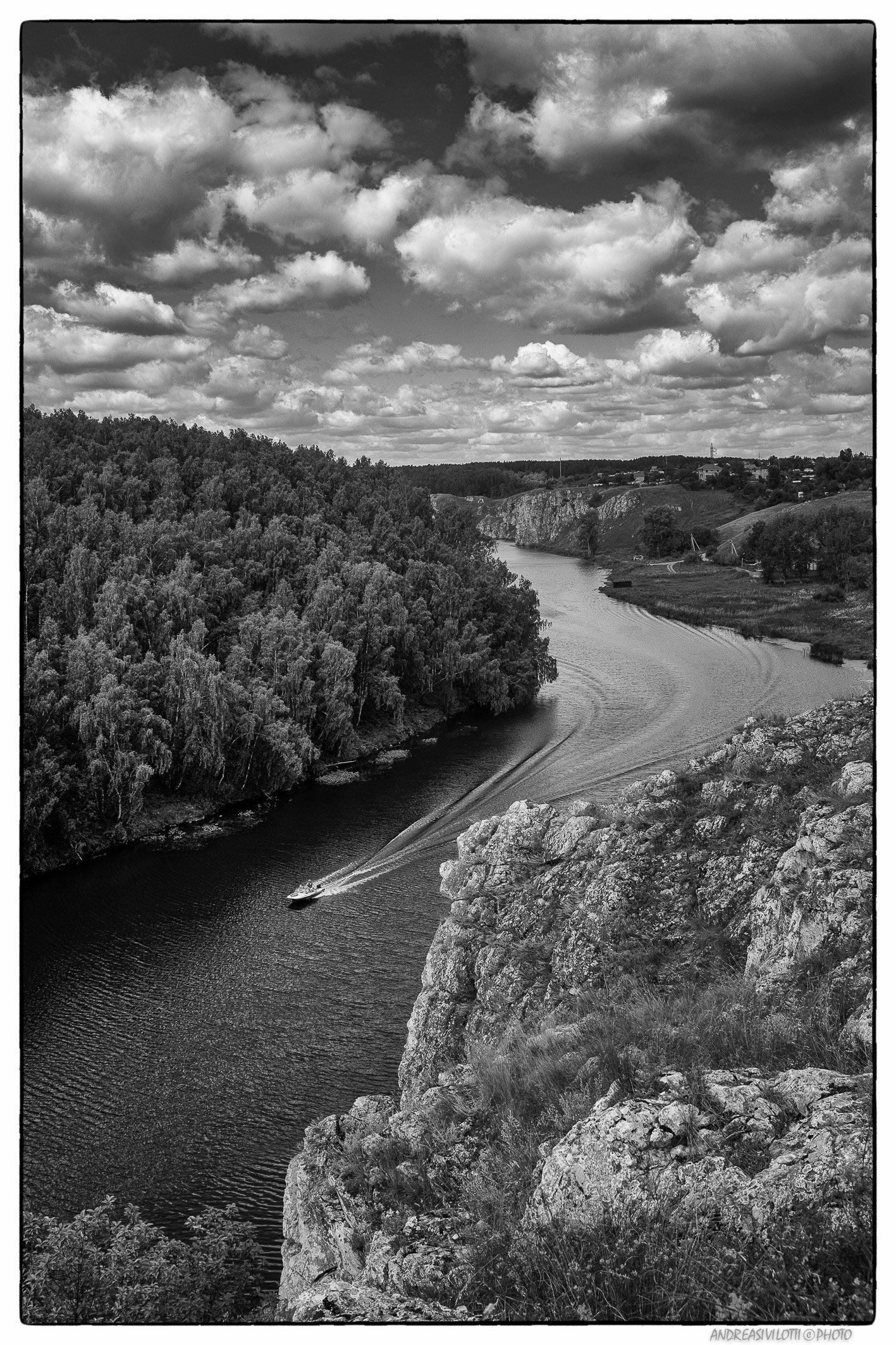 Black&White BW Nature River Photo Street Fujifilm Reportage Russia Story Live Coutry, Андреа Сивилотти