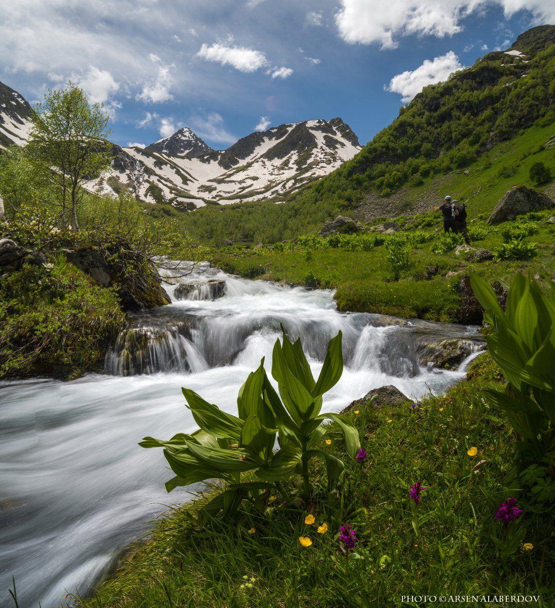 горы, предгорья,река,горная река,ручей, хребет, вершины, пики, озеро,ущелье,архыз,снег,скалы, холмы, долина, облака, путешествия, туризм, карачаево-черкесия, кабардино-балкария, северный кавказ, АрсенАл