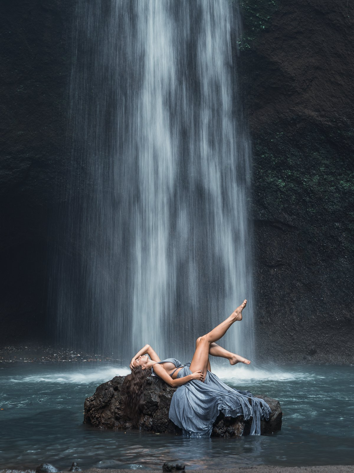 водопад, бали, индонезия, Марго Журавлёва