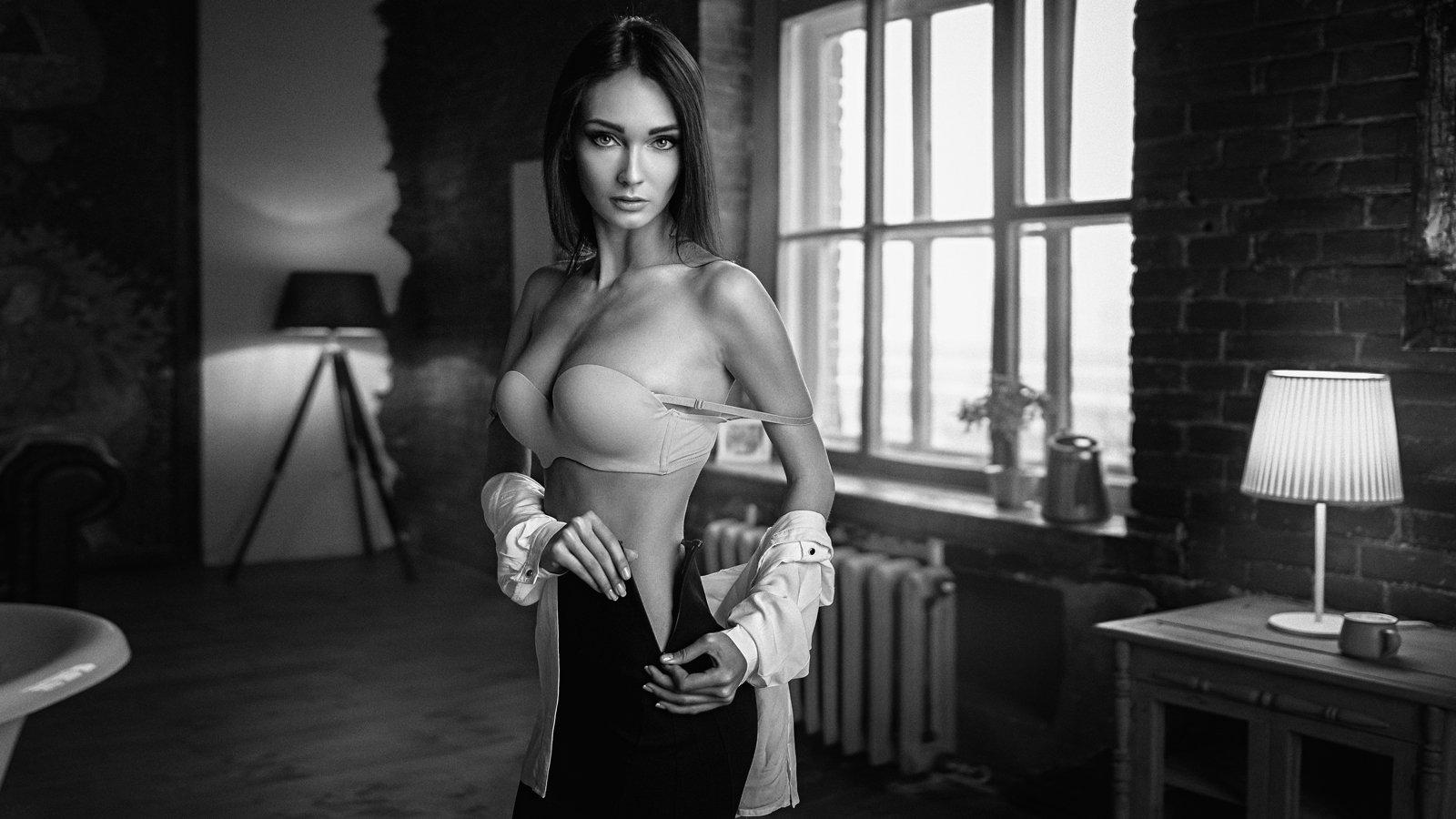 портрет, модель, portrait, model, гламур, Георгий Чернядьев