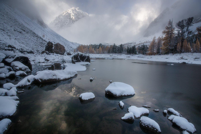 алтай, горы, осень, актру, сачки, Владимир Ляпин