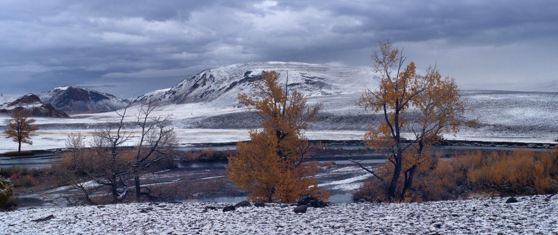 алтай, горы, осень, чаган-узун, Владимир Ляпин