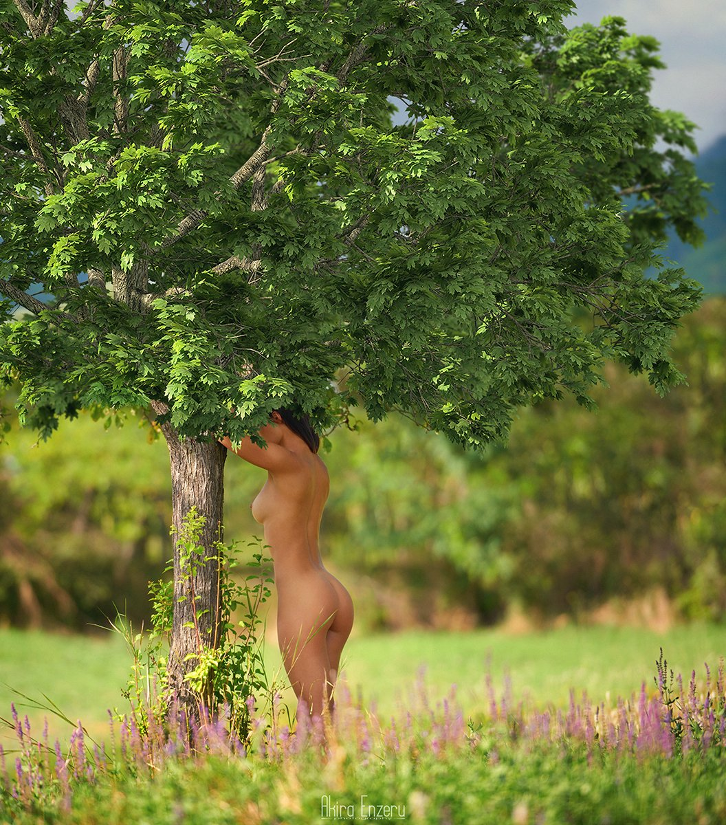 portrait, nude, Akira Enzeru