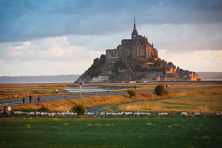 abbaye du mont saint michel, france, Андрей (SCAT)