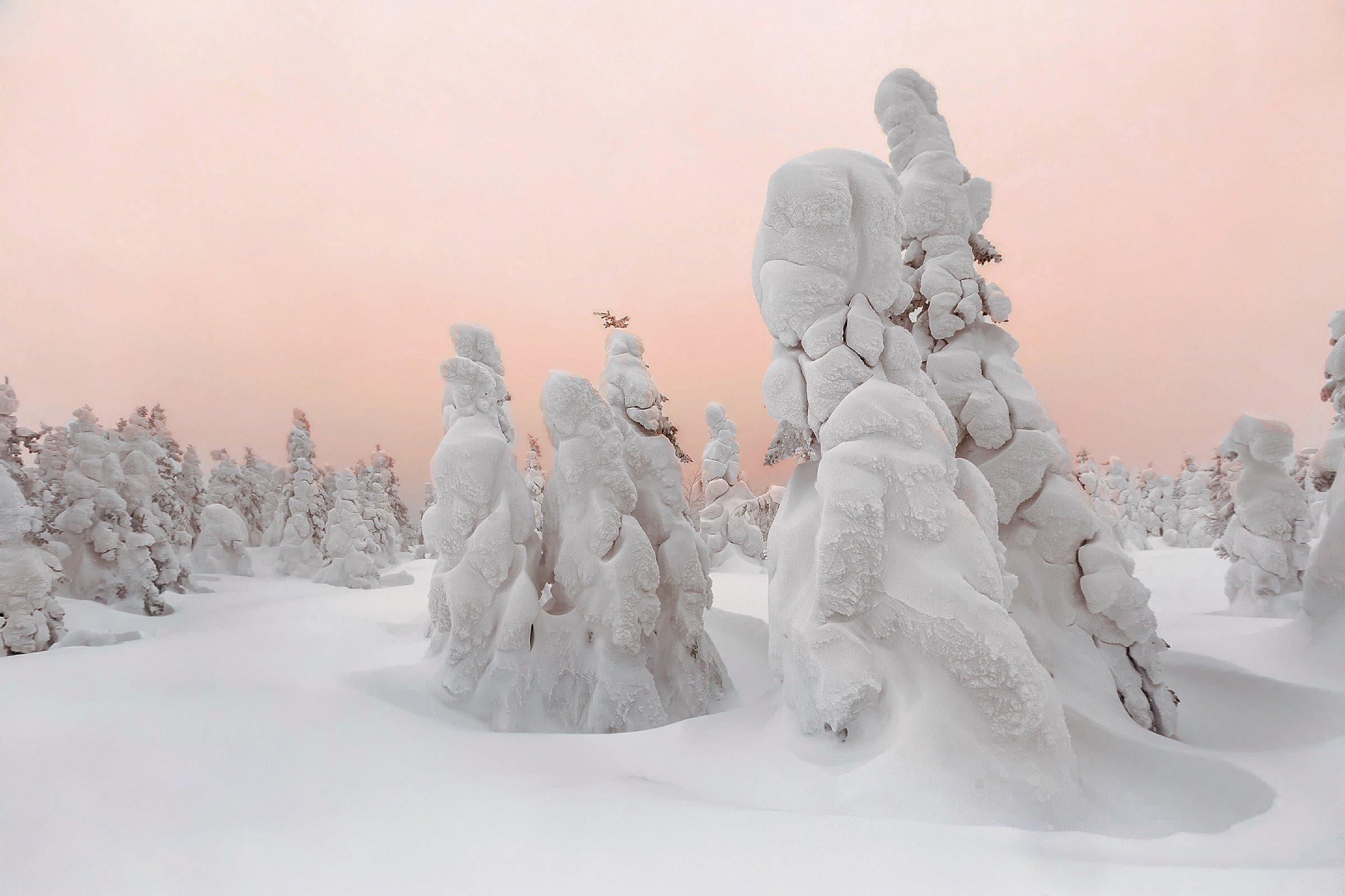 Таганай, Южный Урал, Златоуст, снег, метель, восход, Владимир