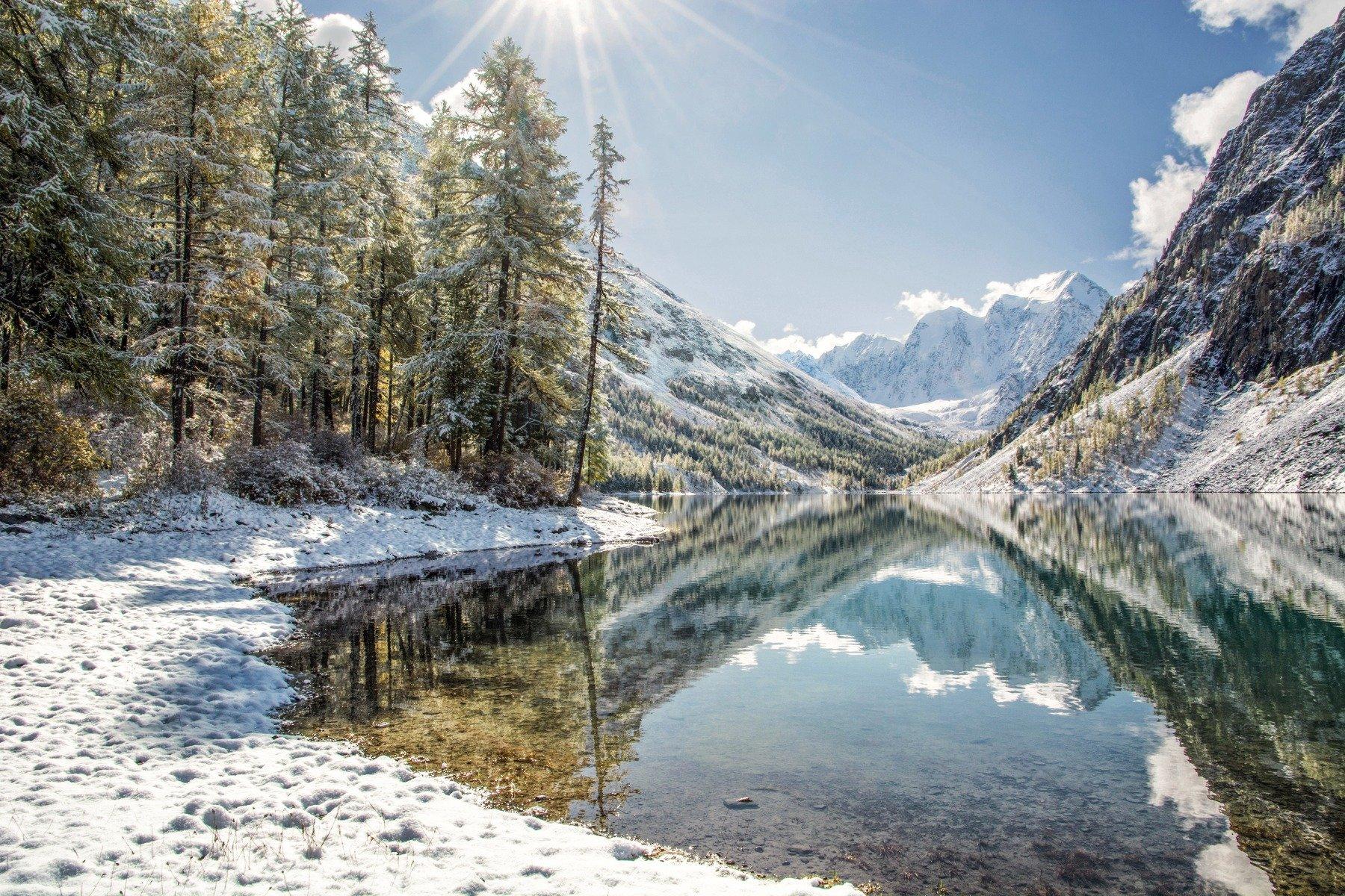 алтай,осень,зима, aleksei