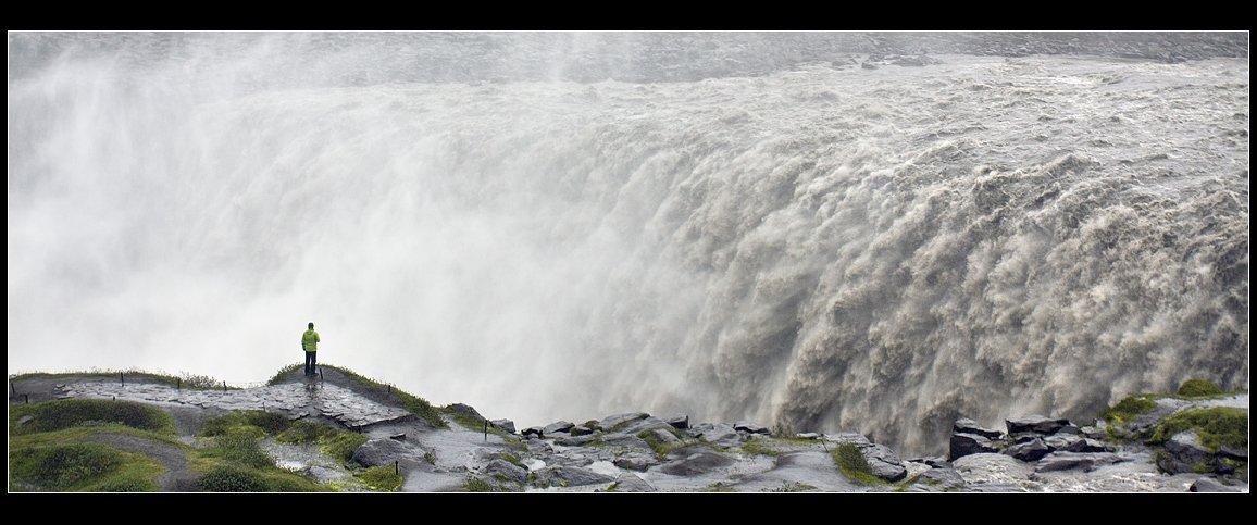 исландия, водопад, детифосс, Виктория Роготнева