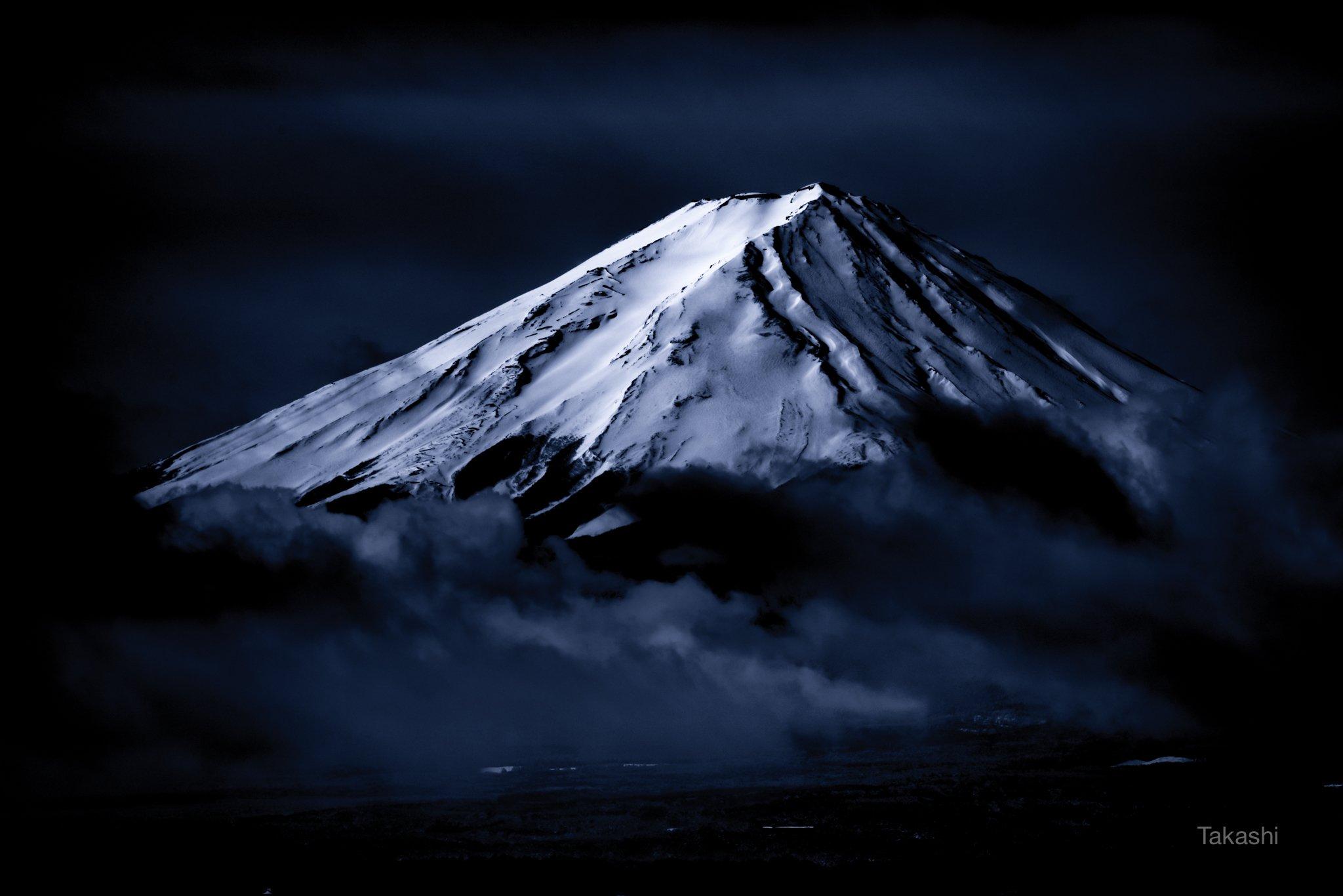 Fuji,Japan,mountain,snow,cloud,beautiful,amazing,blue,white,, Takashi