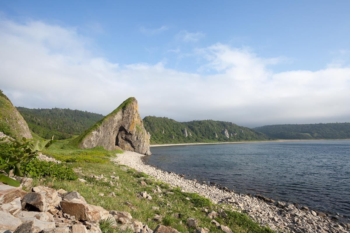 Курилы, Курильские острова, берег, море, скала, камни, Сергей Козинцев