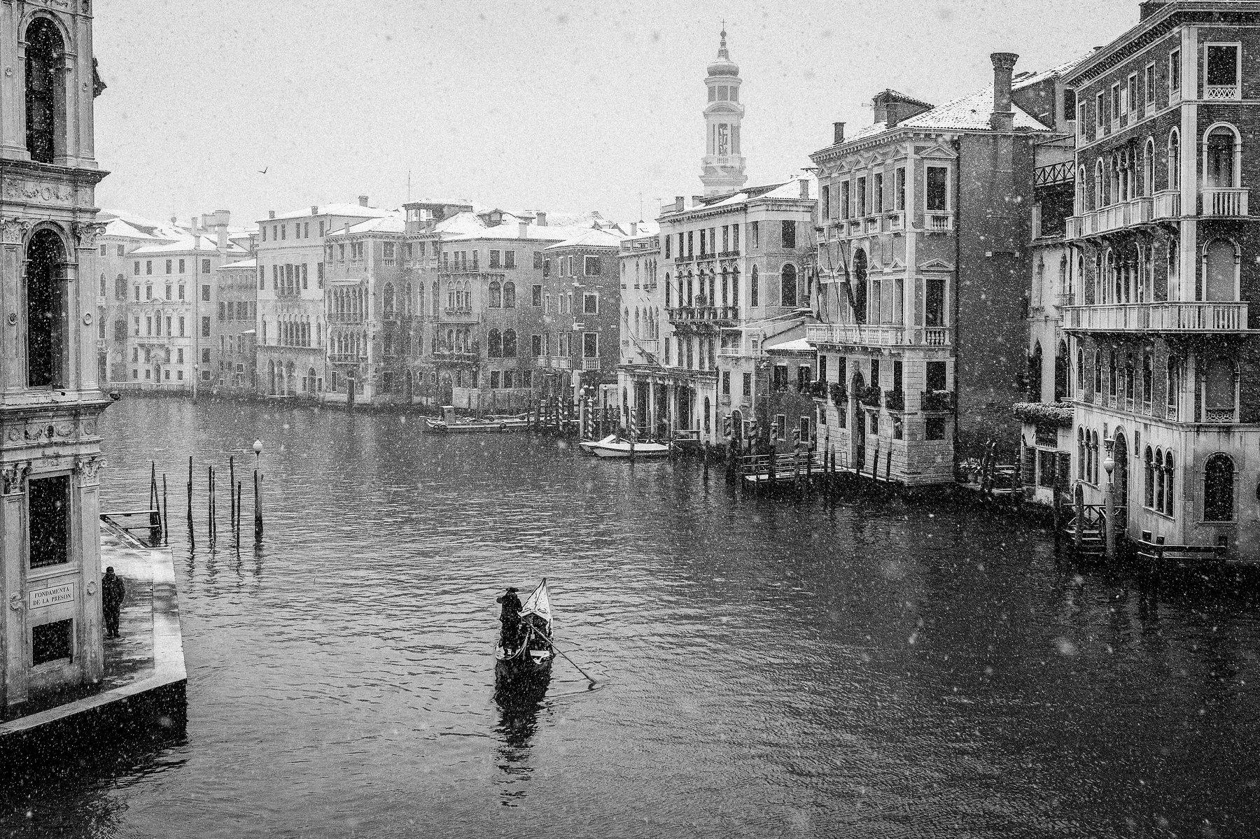 Italy, Venice, BW, cityscape,, Igor Sokolovsky