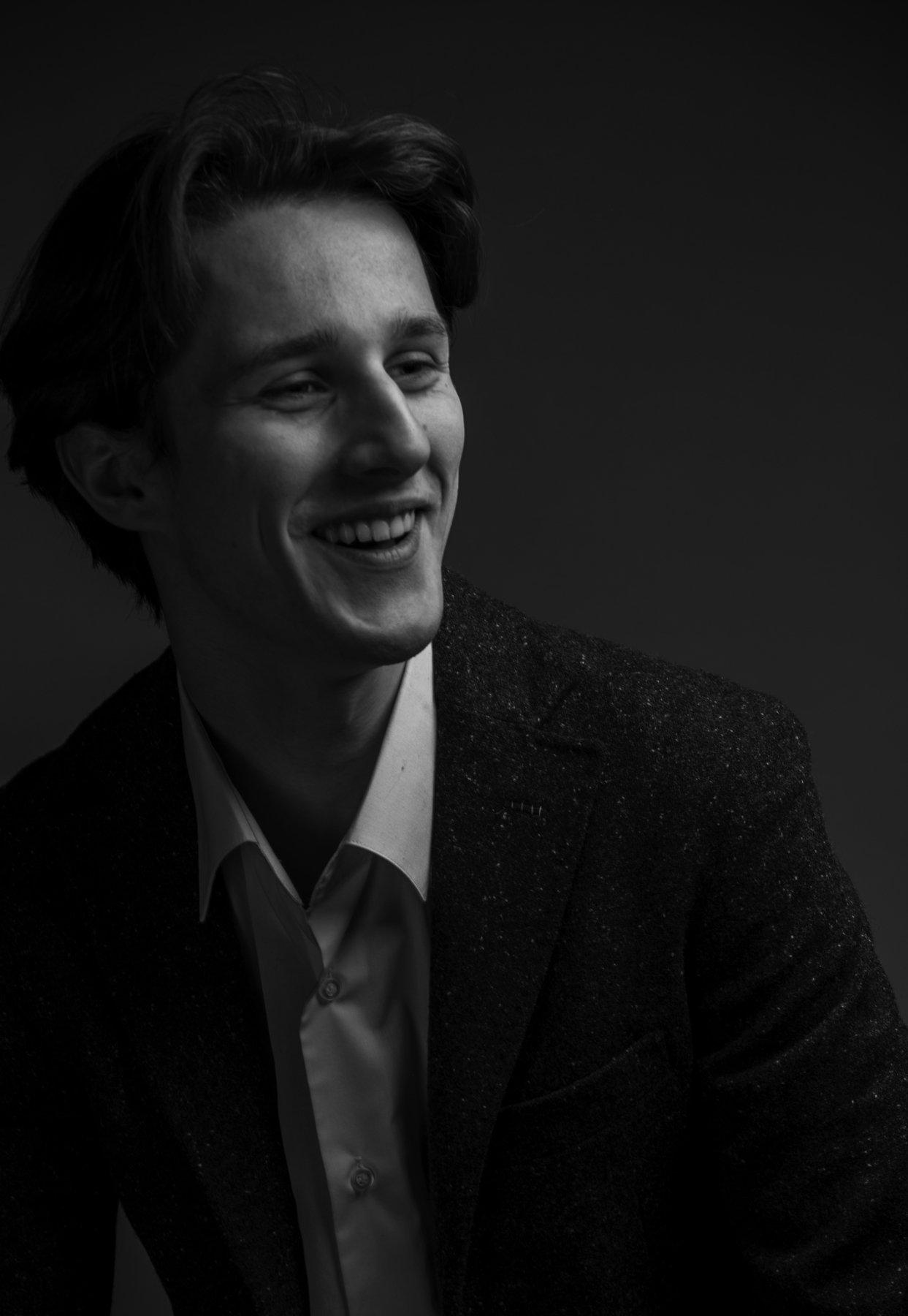 портрет фотостудия чб свет мужской портрет, Zonder Alex