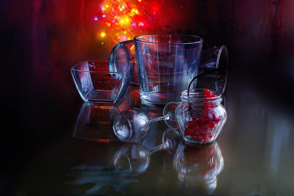 натюрморт,стекло,свет,отражение,, Вера  Павлухина