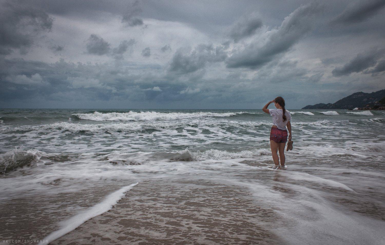 пейзаж, природа, облака, горы, путешествия, travel, wildlife, nature, sky, clouds, mountain, landscape, море, океан, sea, ocean, thai, Snowrain