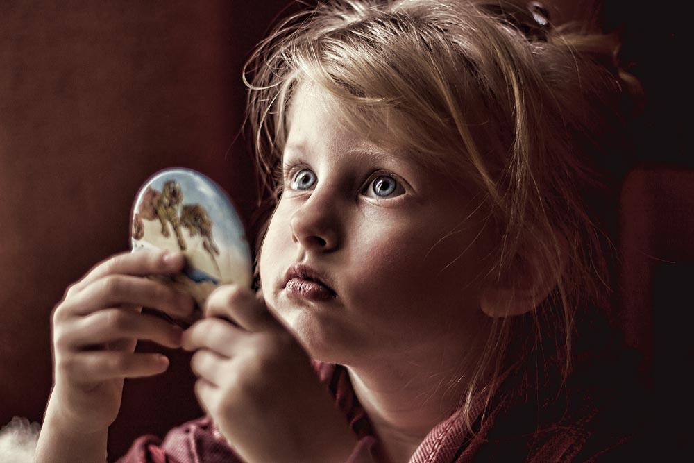 детский портрет дневной свет, Мария