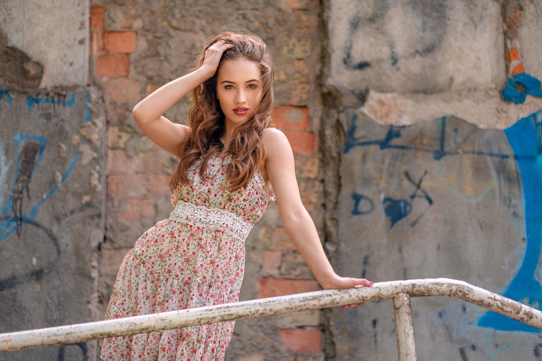 beauty, portrait, girl , young, female, summer, Saulius Ke