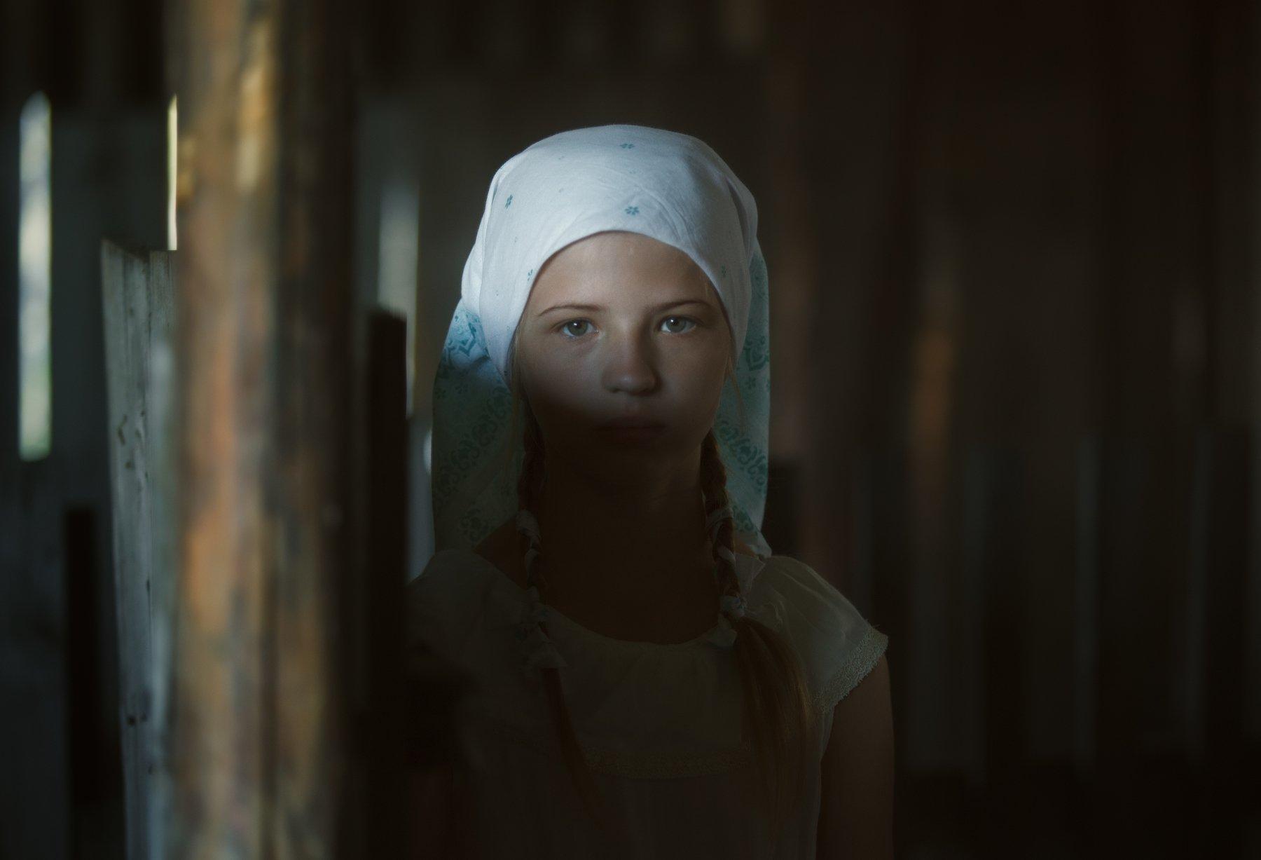 дети,портрет,утро,деревня,Алтай,Россия, Оксана