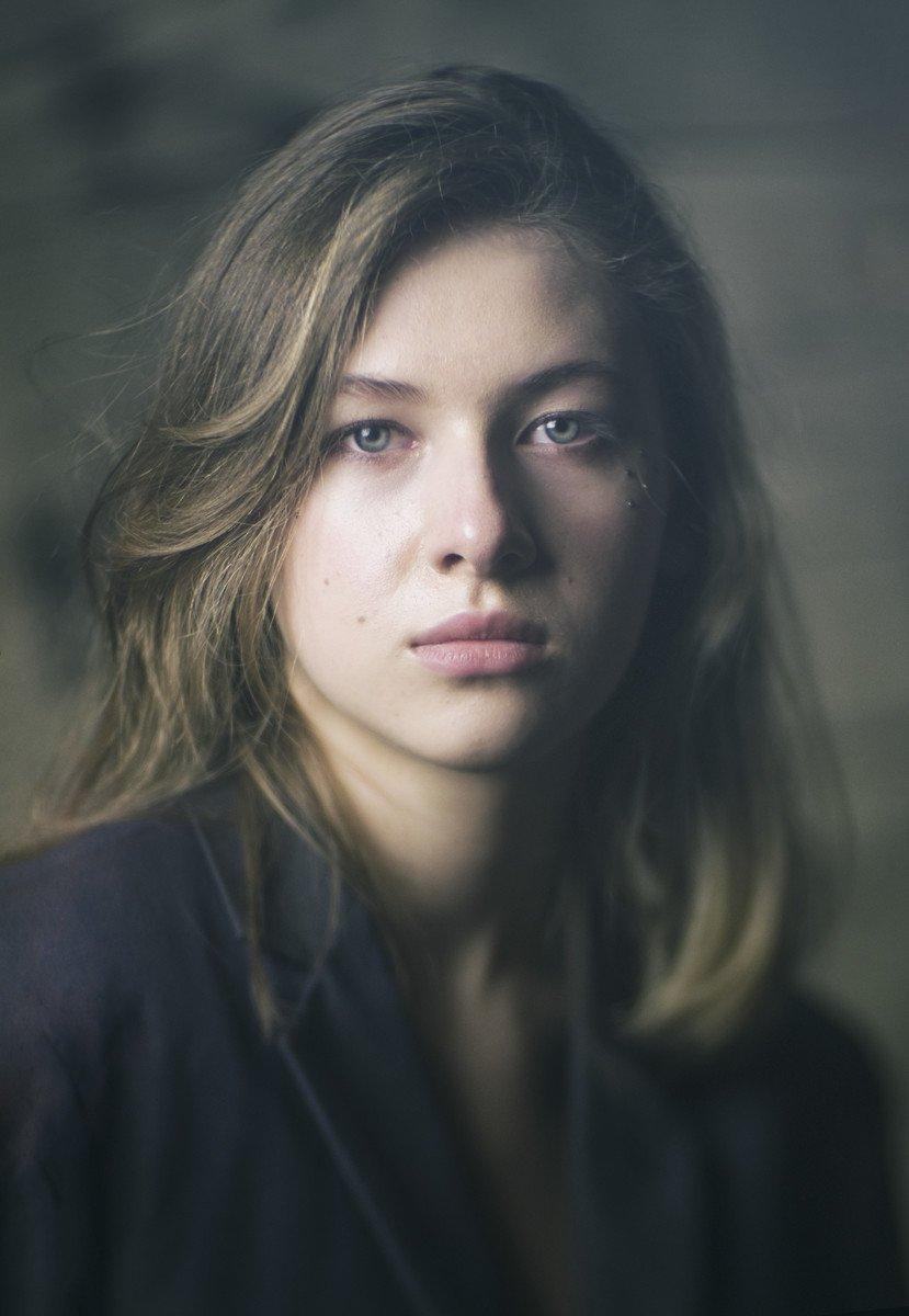 девушка, портрет, взгляд, настроение, ко-120ь, valeko