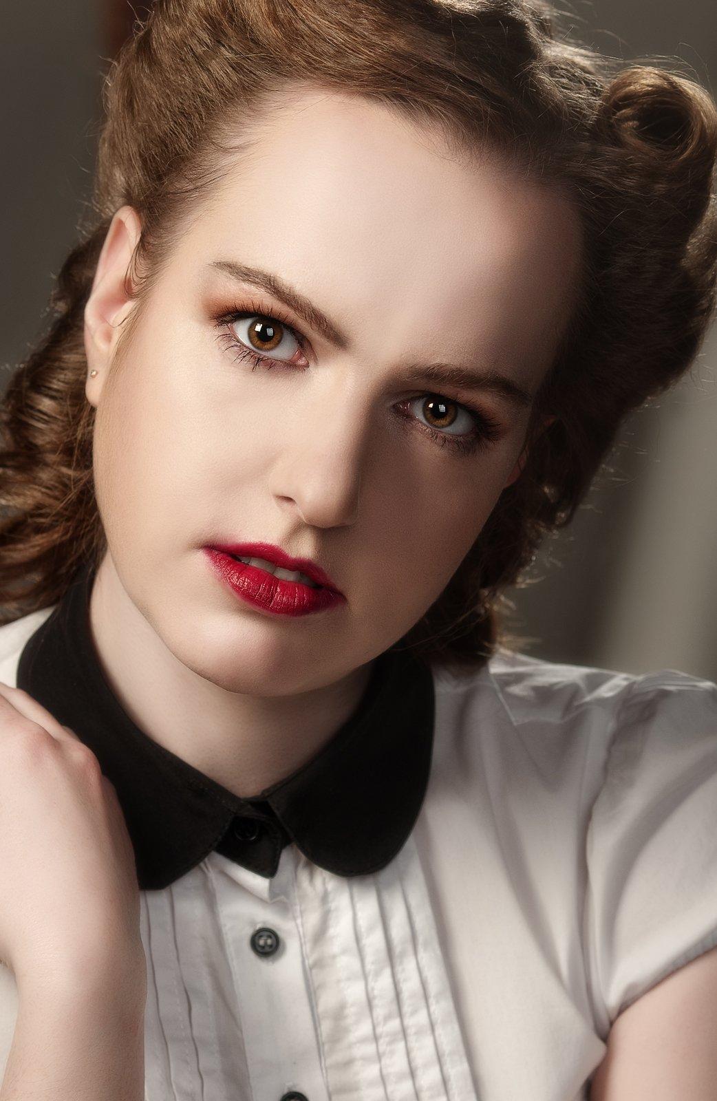 портрет взгляд, Александр Демин