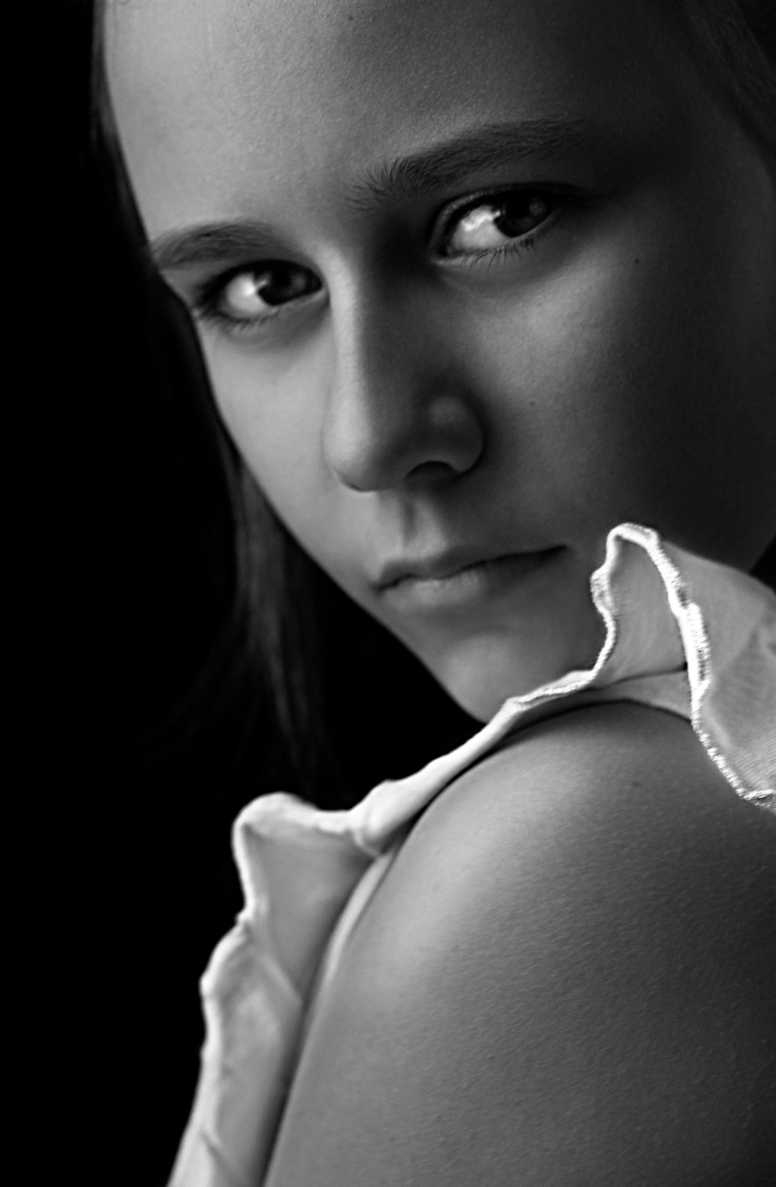 portrait, face, eyes, emotional, портрет, дети, child, girl, анна шацкая
