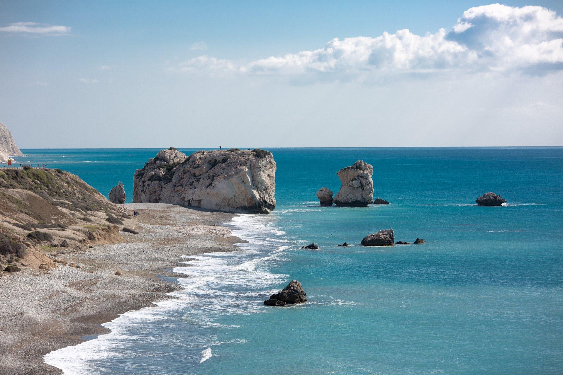 пейзаж, море, скалы, туристическое, афродита, прибой, простор, Илья Беленький