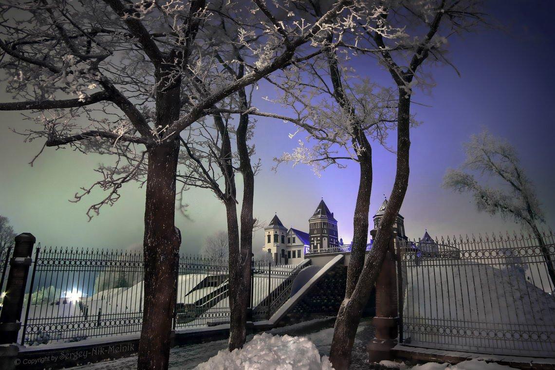 беларусь,вечер,зима, мир, замок, ночь, минск, Sergey-Nik-Melnik.by