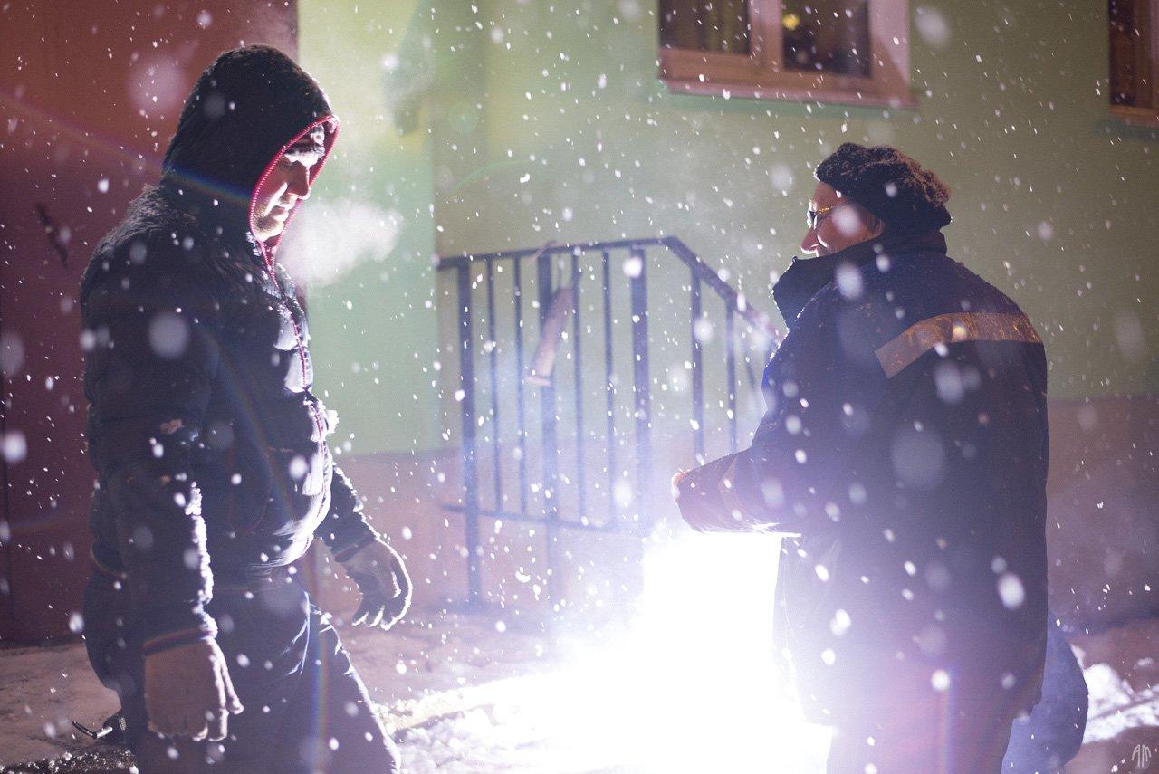 уличная фотография, streetphotography, снег, Александр Малафеевский