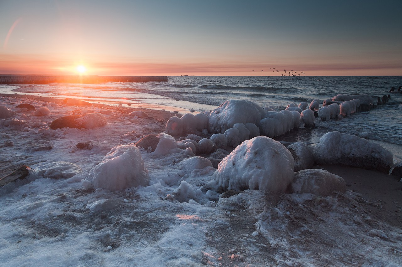 балтийское море, зеленоградск, Алексей Шамашов
