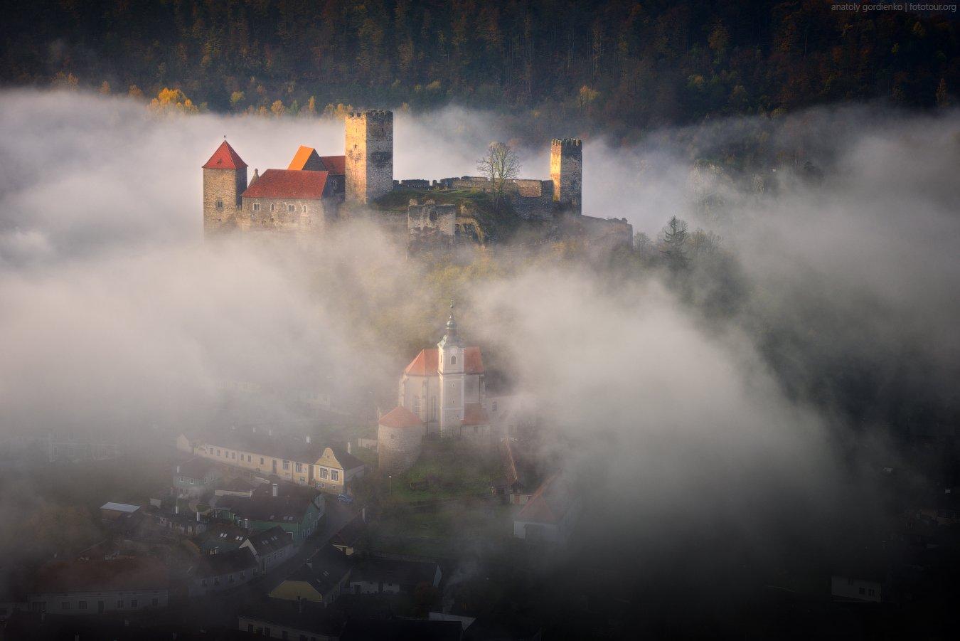 замок, австрия, hardegg, Анатолий Гордиенко www.fototour.org