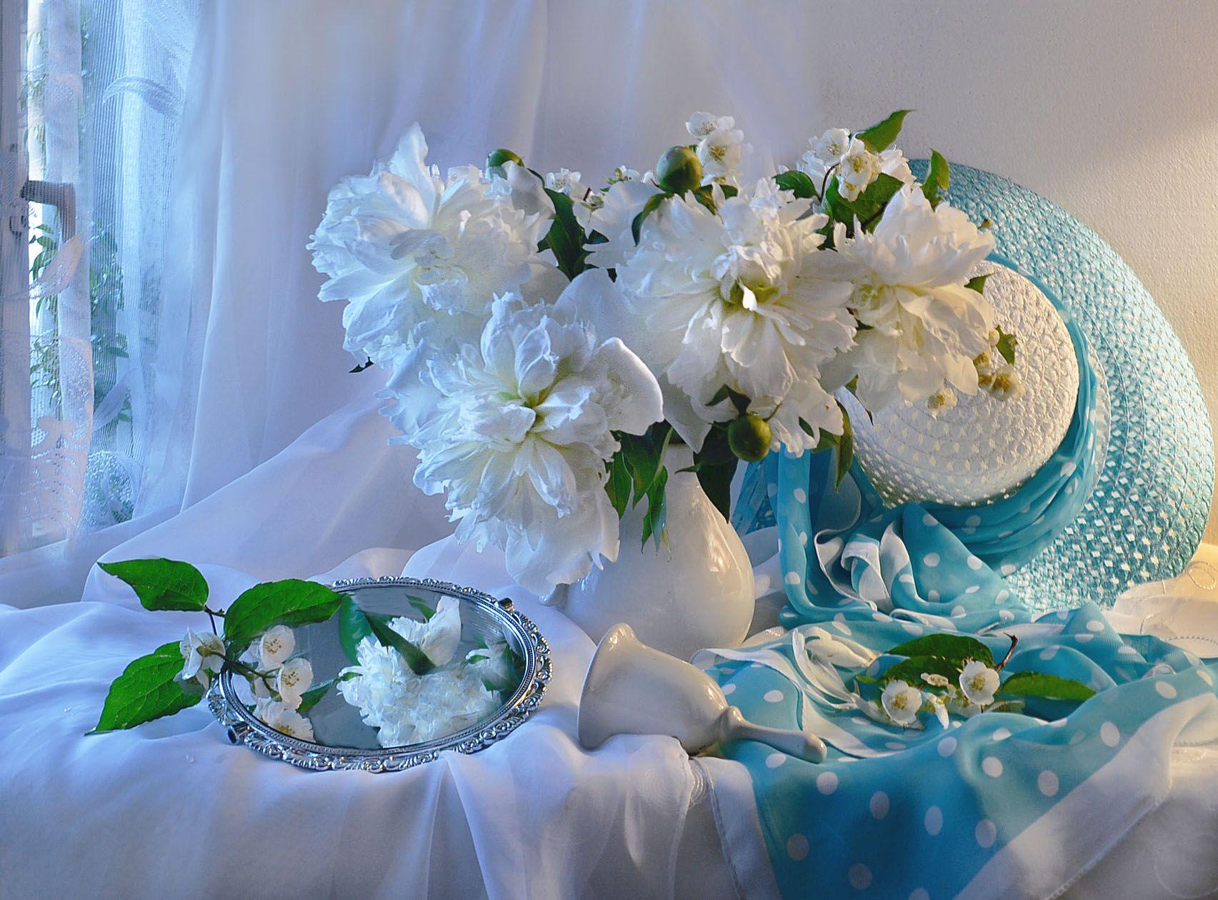 still life, натюрморт, белые ночи, белые пионы, июль, лето, настроение, пионы, стихи, фото натюрморт,, Колова Валентина