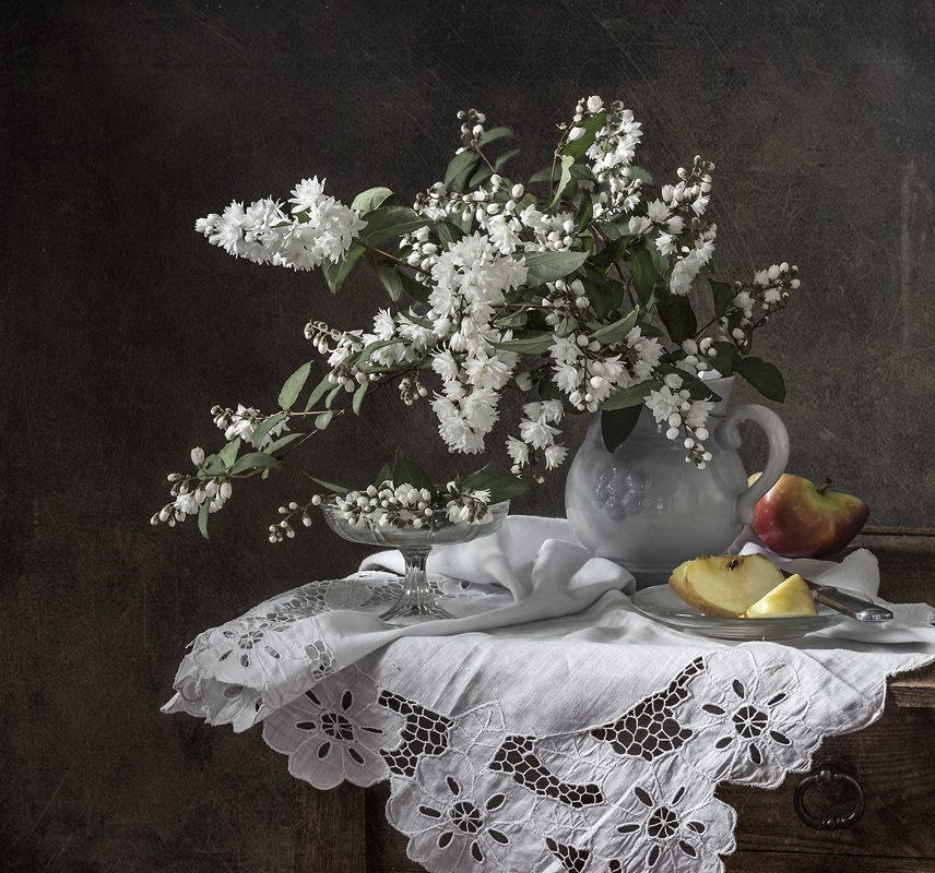 натюрморт, яблоки, фрукты, still life, Оля