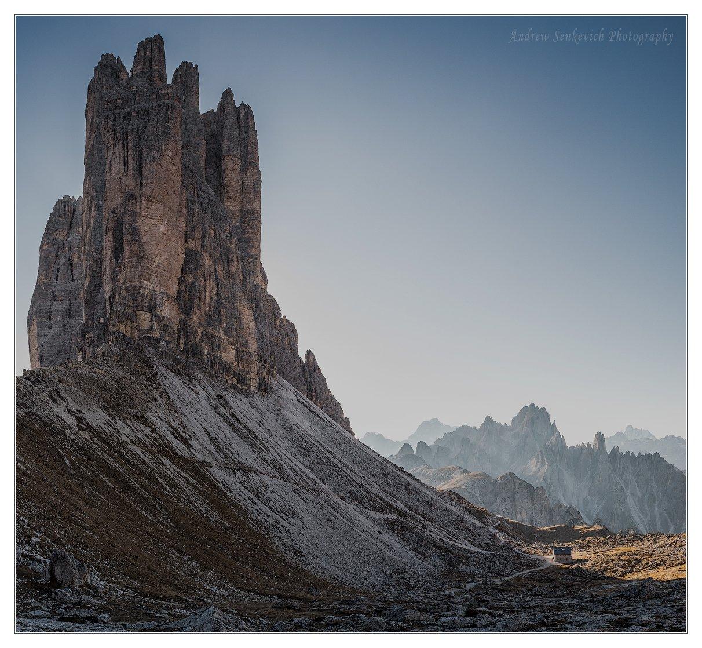 доломиты, италия, осень, фототур, пейзаж, горы, тре чиме, Андрей Сенкевич