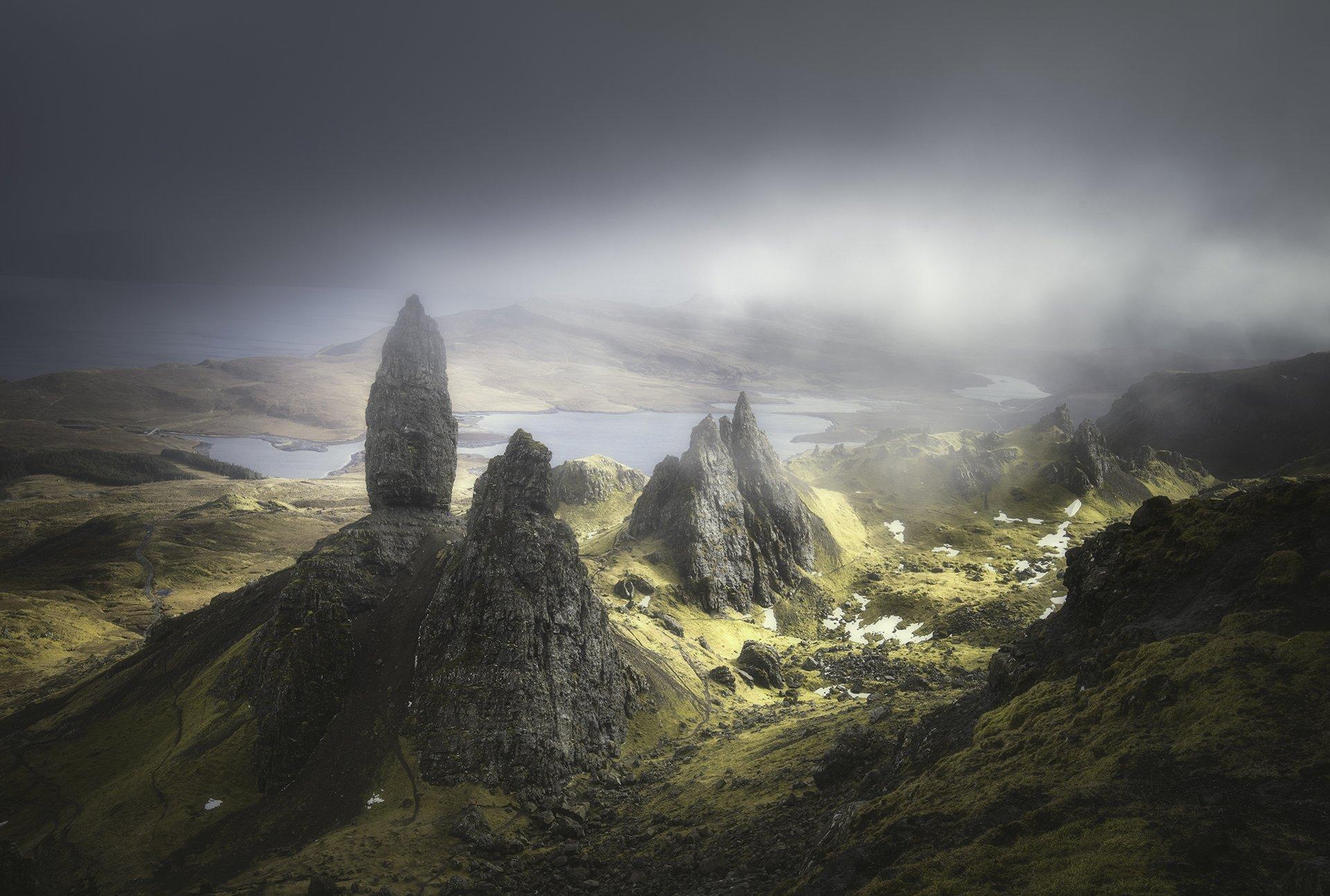 scotland, isleofskye, nature, landscape, travel, Genadi Dochev
