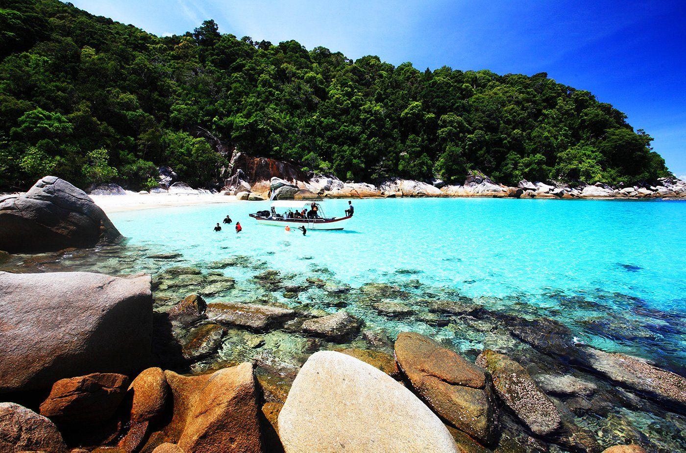perhentian island, малайзия, Андрей