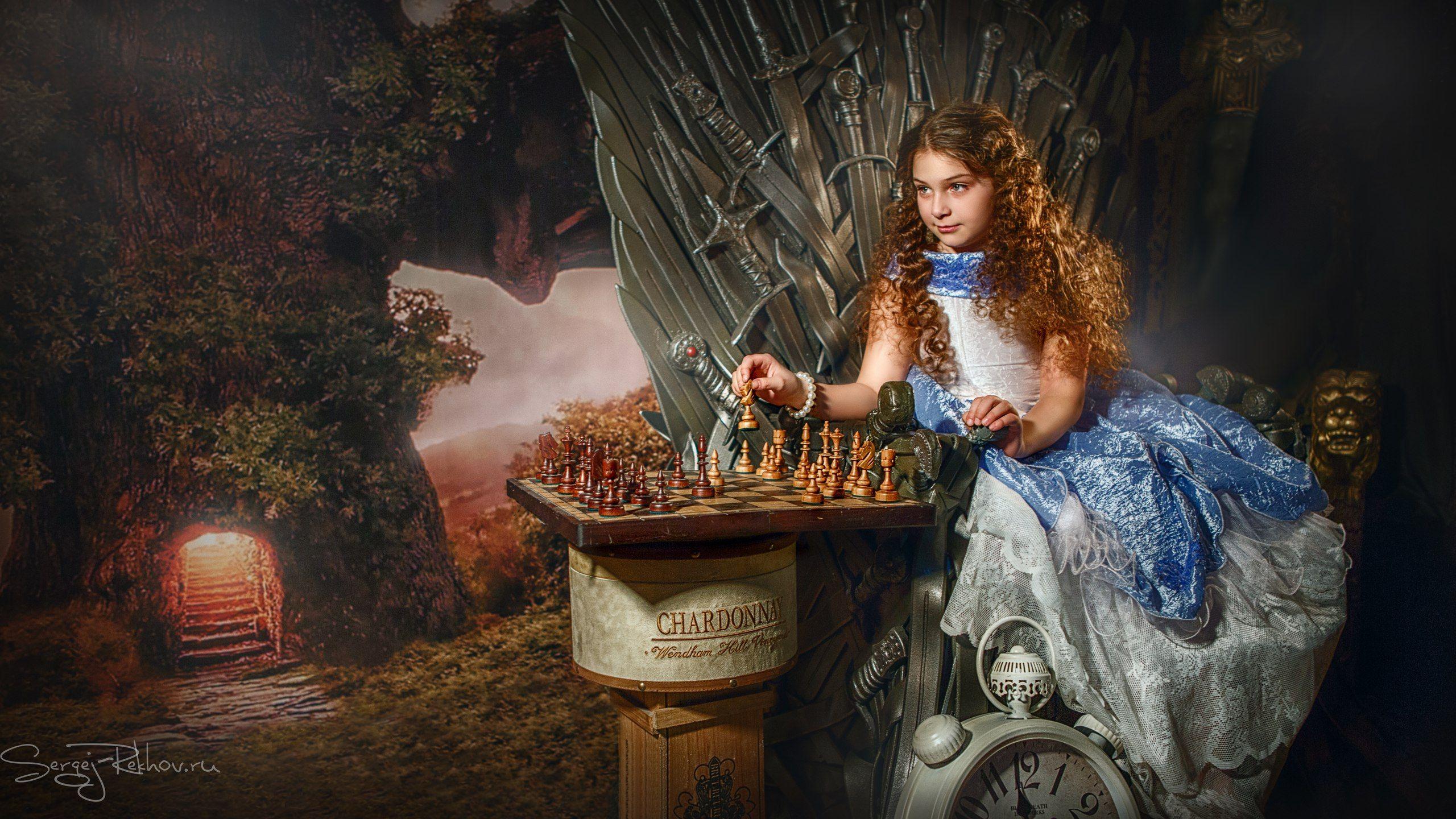 алиса, сказка, шахматы,  rekhov, Сергей Рехов