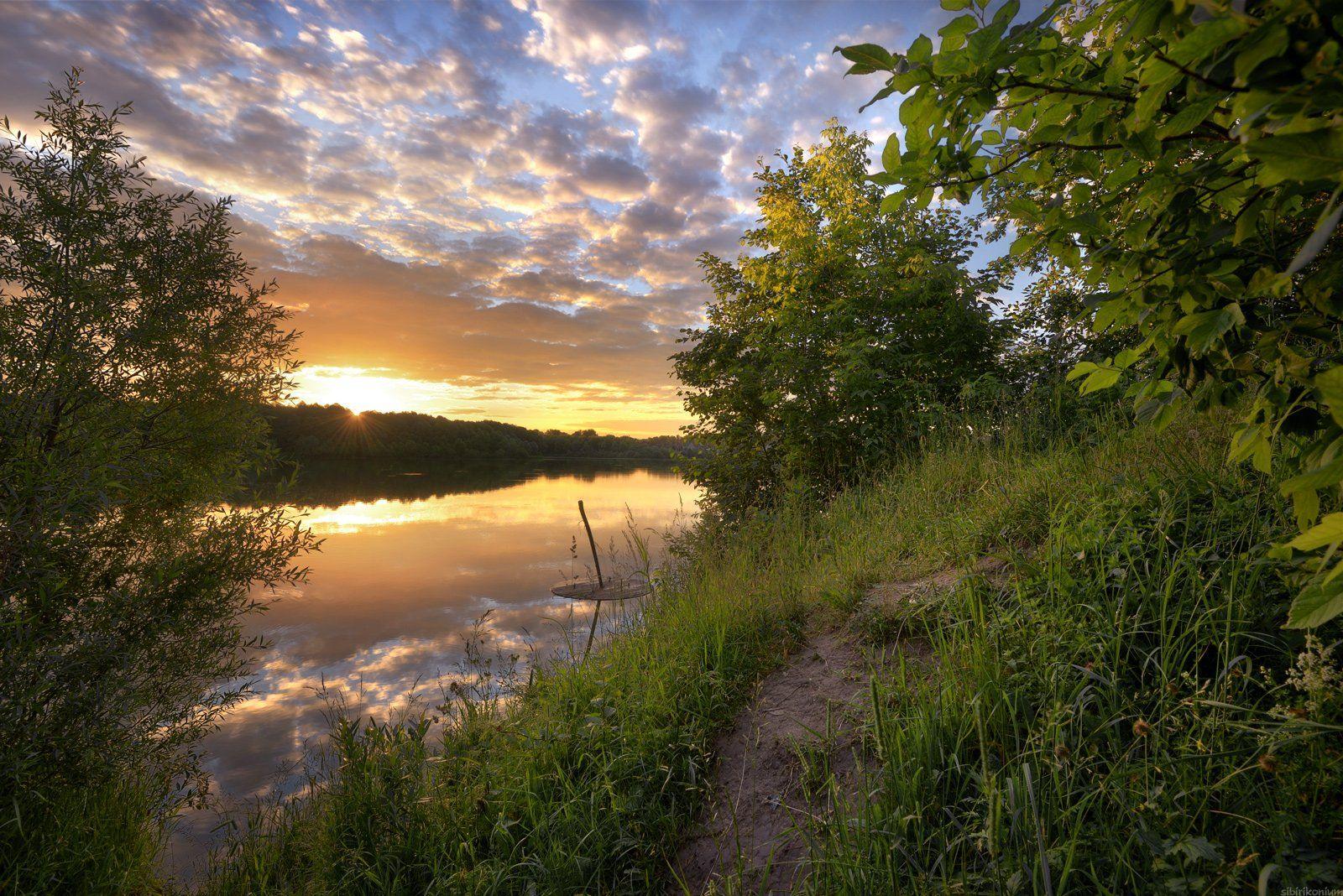 #пейзаж #весна #подмосковье #чехов #красиво #природа #закат #вечер , Морозов Юрий