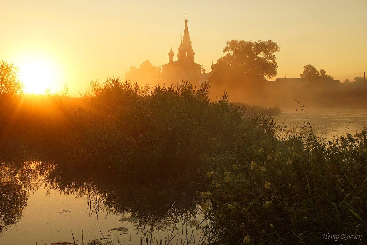 река теза, ивановская область, Петр Косых