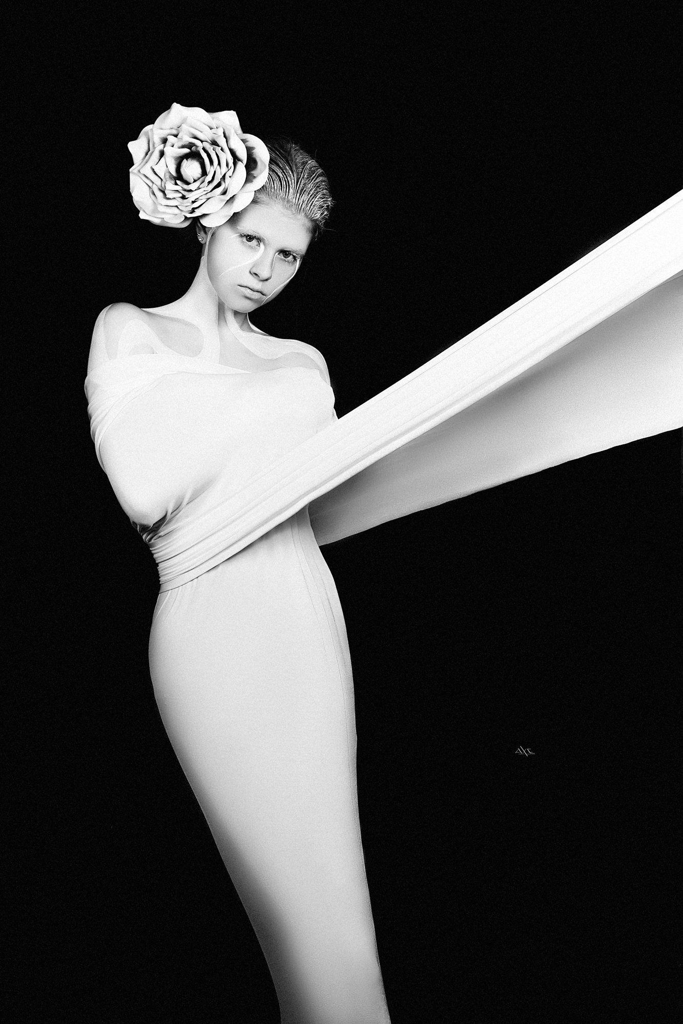 woman, portrait, art, studio, light, conceptual, Руслан Болгов (Axe)