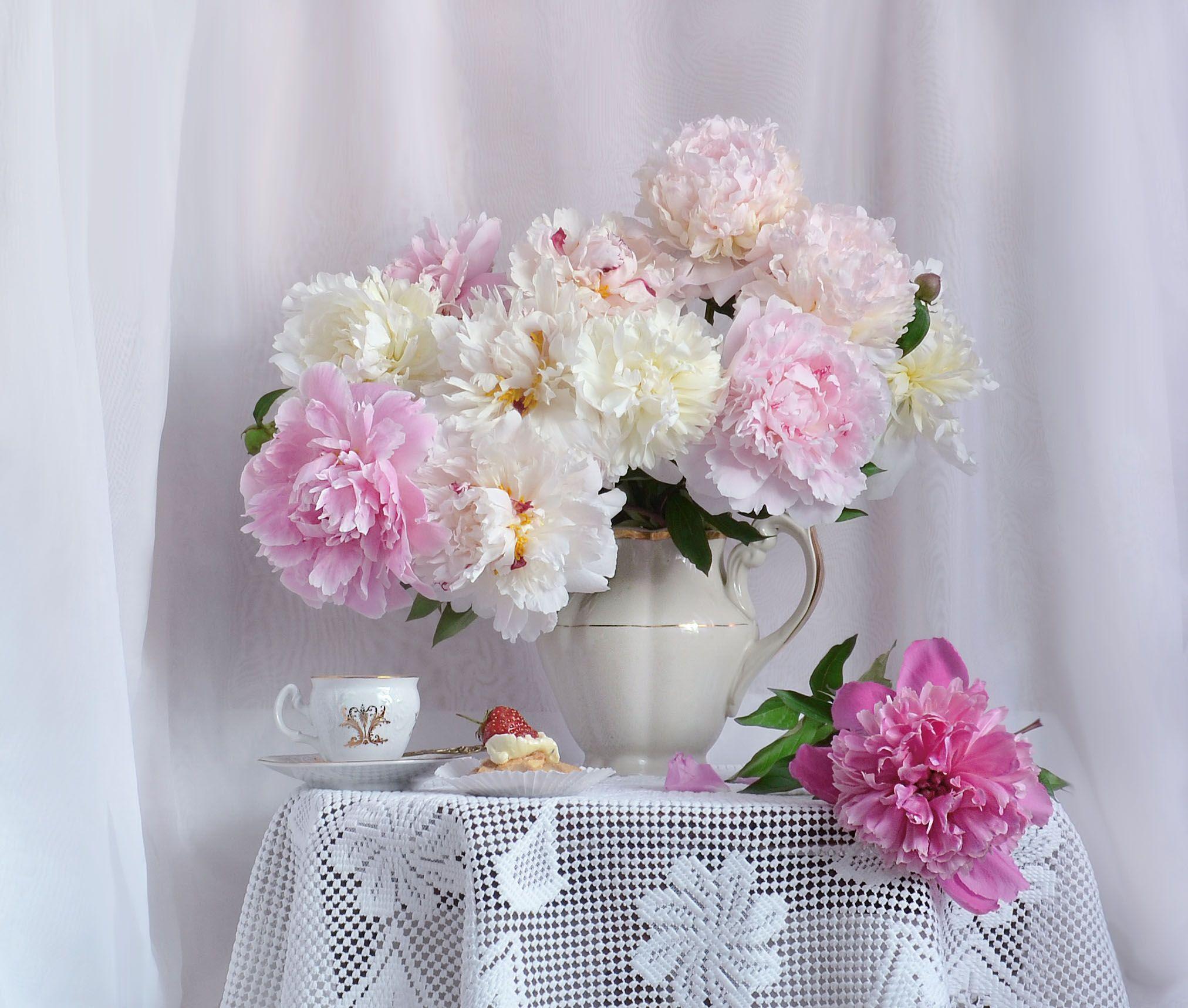 still life, натюрморт, июньские вечера, лето, настроение, пионы, фото натюрморт, цветы, фарфор, Колова Валентина