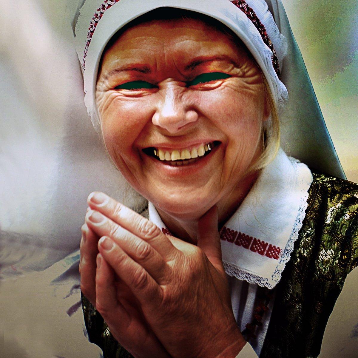 счастье, женщина, портрет, Rimantas Petrikas