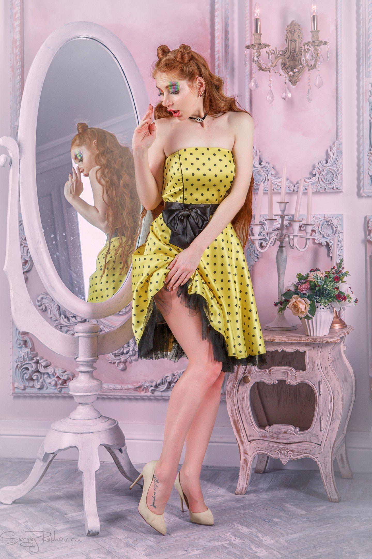 pin-up, пин-ап, девушка, модель, Сергей Рехов